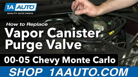 replace vapor canister purge solenoid   chevy
