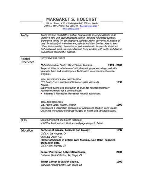 winning resume formats 28 images sle resume best