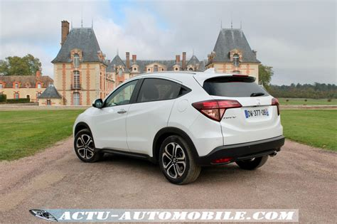 essai honda hr    dtec exclusive navi actu automobile