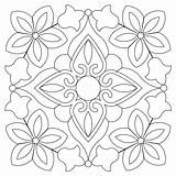 Bandana Block Quilting Patterns Quilt Sweetdreamsquiltstudio Stencils Blocks Painting Coloring Pattern Adult Arm Computer Short Embroidery Tile Sheets Mandala sketch template