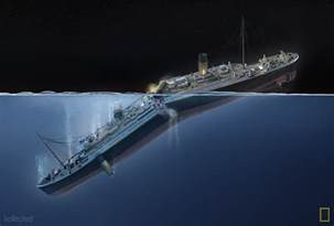 Titanic Sinking Animation 2012 by Titanic 100 Years Kollected
