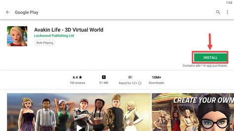 avakin pc windows virtual 3d mundo install os mac laptop