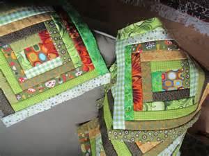 baby s easter basket easy log cabin quilt block favequilts
