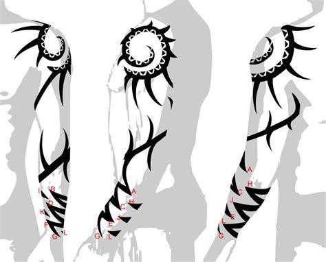 Arm Tribal Tattoos Designs Image