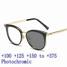 2019 Women Cat Progressive Reading Glasses Retro Round Photochromic Multi Focus Reading Glasses