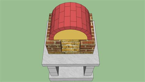 woodwork wood burning pizza oven plans  plans