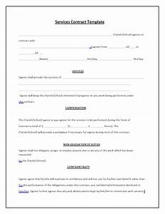 Services Contract Template Tips & Guidelines