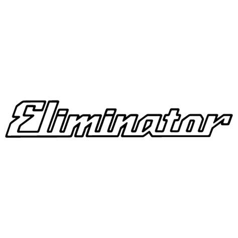 Eliminator Boats Logo by Sticker Kawasaki Eliminator