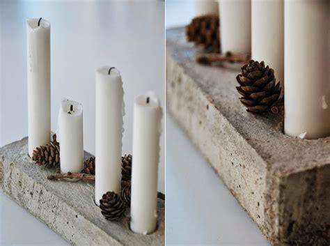 Basteln Mit Beton Zu Weihnachten by Basteln Mit Beton Zu Weihnachten Coole Idee F 252 R Diy