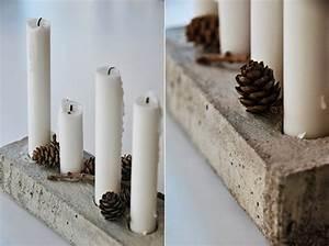 Basteln Mit Zement : basteln mit beton zu weihnachten freshouse ~ Frokenaadalensverden.com Haus und Dekorationen