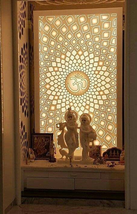 corian temple pooja room door design pooja room design
