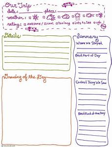 exclusive free printables field trips fields and trip With trip diary template