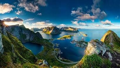 Travel Norway Scenes Sights Wallpapers