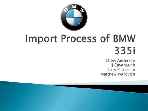 import process  bmw  powerpoint