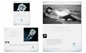 Word Templates For Wedding Invitations Jeweler Jewelry Store Flyer Ad Template Design
