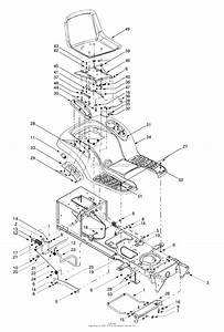 Mtd 13ad604g401  2000  Parts Diagram For Seat  Fender