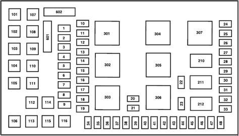 2007 Ford Fuse Box Diagram by Ford F 250 2002 2007 Fuse Box Diagram Auto Genius