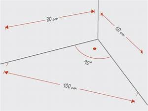 Rechter Winkel Mit Meterstab : den k chengrundriss richtig erstellen tipps infos hier ~ Watch28wear.com Haus und Dekorationen