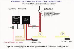Wiring Led Lights On Negative Switched Cars - Jaguar Forums