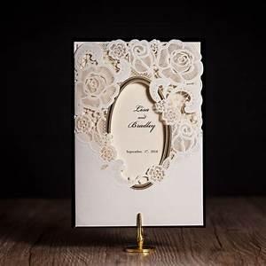 Wishmade cw5185 white royal wedding invitation card for Wedding invitation cards photo frame