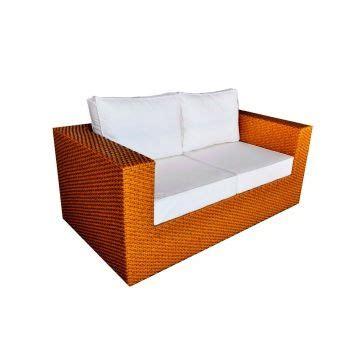 sofa de vime dois lugares 25 melhores ideias de sof 225 de fibra sint 233 tica no