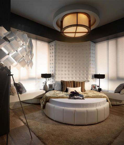 magnificent unique rounded bed bedrooms