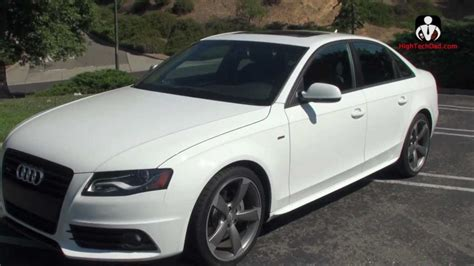 2012 Audi A4 by Tight Design Performance Review Of The 2012 Audi A4