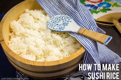 sushi rice recipe how to make sushi rice just one cookbook