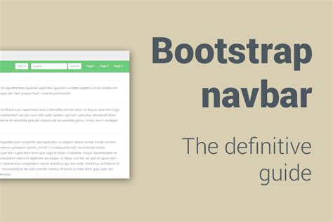 bootstrap navbar template bootstrap navbar the definitive guide and tutorial bootstrapious