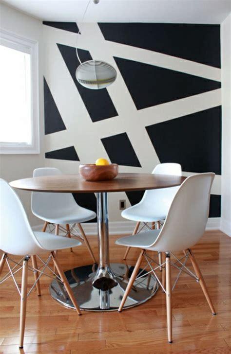 Wände Gestalten Mit Farbe Streifen by 62 Kreative W 228 Nde Streichen Ideen Interessante Techniken