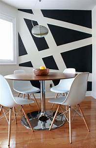 Muster Für Wandgestaltung : 62 kreative w nde streichen ideen interessante techniken ~ Lizthompson.info Haus und Dekorationen