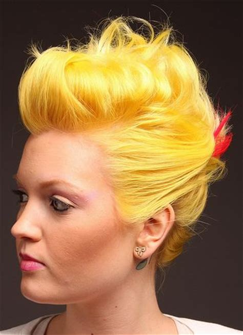Bright Yellow Hair 7 Unique Color Inspiration Photos