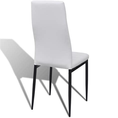 lot 6 chaises blanches la boutique en ligne lot de 6 chaises blanches aux lignes
