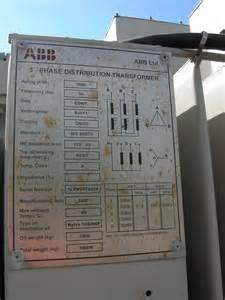 Transformer Name Plate