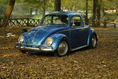 Vintage Volkswagen Wallpapers by Autumn Car Classic Leaves Oldtimer Park Vintage Volkswagen
