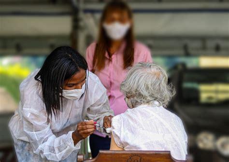 Quase oito mil pessoas já tomaram a vacina contra a covid ...