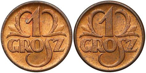 1 grosz 1938 - mennicze (2szt)