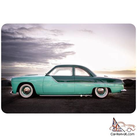 1949 Ford Coupe Kustom, Sectioned 4 Inches, Custom Everything