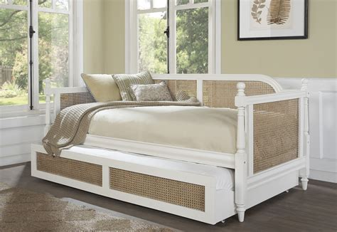 melanie daybed trundle white