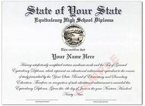 best photos of printable ged certificate template free With free ged diploma template