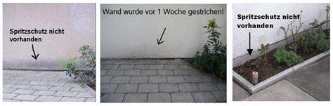 Beet Direkt An Hauswand by Warum Spritzschutz F 252 R Die Fassade Notwendig Ist