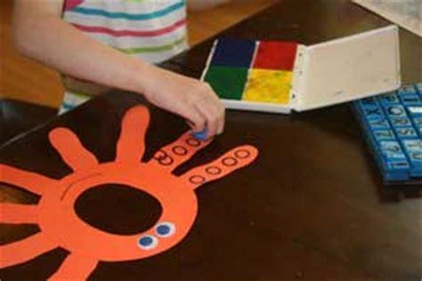 letter  octopus craft  kids network