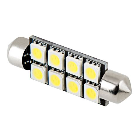 578 can led bulb 8 led festoon 44mm festoon base