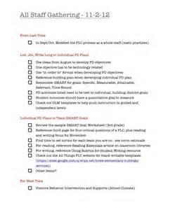 Professional Development Plan Goals Examples for Teachers