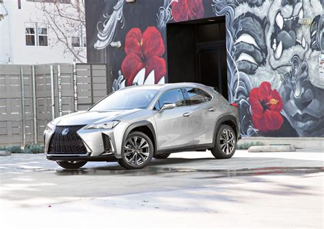 lexus joins  small crossover fray   urban
