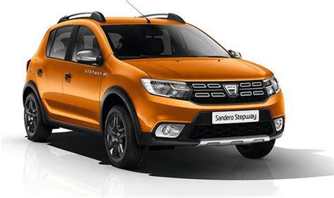 dacia sandero stepway 2017 dacia duster sandero stepway logan mcv get se summit upgrades cars style express co uk
