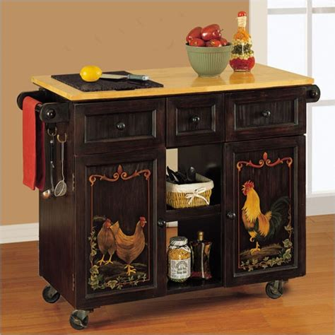 sideboard with hutch hen and rooster cabinet for the home paint