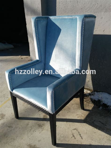 royal luxury wedding rental chair blue banquet armchair