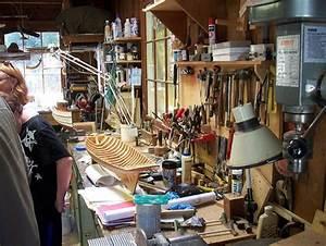 Dan's Train Blog » A model ship building workshop