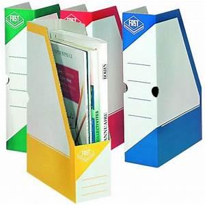 Porte Revue Carton : porte revues carton couleurs dos 8 cm ~ Teatrodelosmanantiales.com Idées de Décoration